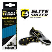 Flat Elite Soccer Laces Electric Blue