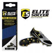 Flat Elite Soccer Laces Neon Royal