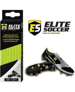 Lacets Ronds Jaune Néon de Elite Soccer